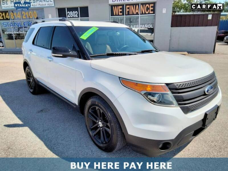 2015 Ford Explorer for sale at Stanley Direct Auto in Mesquite TX