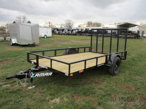 2021 Lamar Single Axle Utility UT771213 for sale at Rondo Truck & Trailer in Sycamore IL