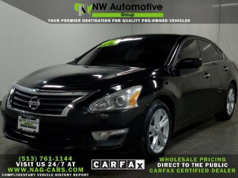 2014 Nissan Altima for sale at NW Automotive Group in Cincinnati OH