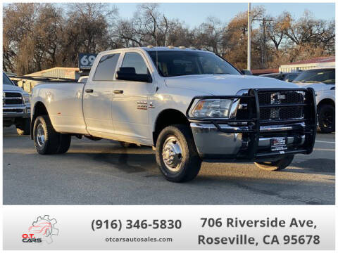 2014 RAM Ram Pickup 3500 for sale at OT CARS AUTO SALES in Roseville CA