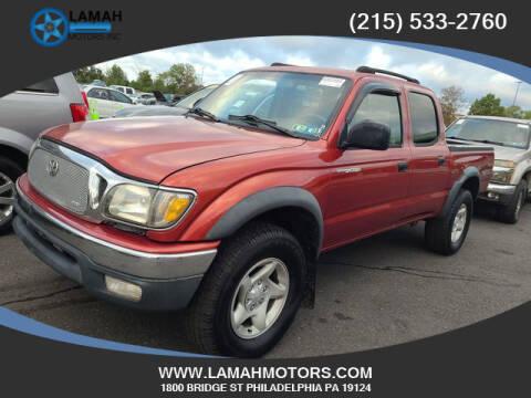 2003 Toyota Tacoma for sale at LAMAH MOTORS INC in Philadelphia PA