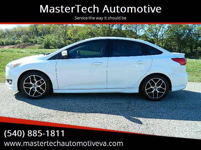 2015 Ford Focus for sale at MasterTech Automotive in Staunton VA