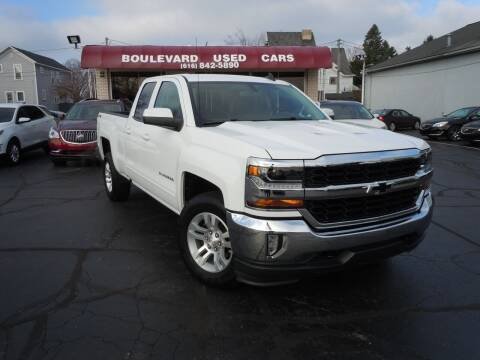 2018 Chevrolet Silverado 1500 for sale at Boulevard Used Cars in Grand Haven MI