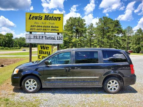 2013 Chrysler Town and Country for sale at Lewis Motors LLC in Deridder LA