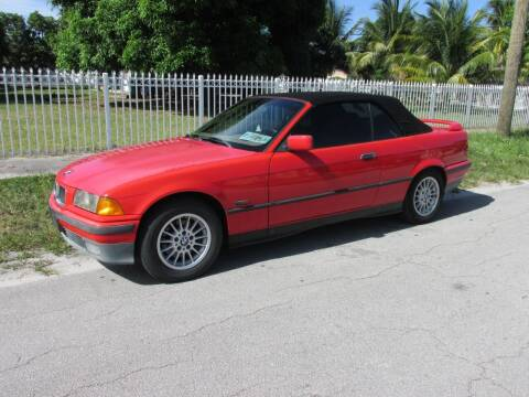1995 BMW 3 Series for sale at TROPICAL MOTOR CARS INC in Miami FL