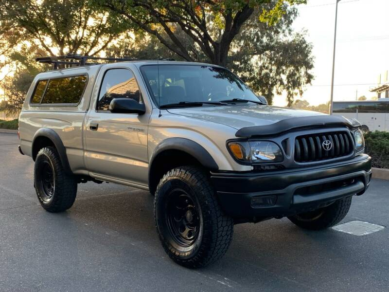 2002 Toyota Tacoma for sale at COUNTY AUTO SALES in Rocklin CA