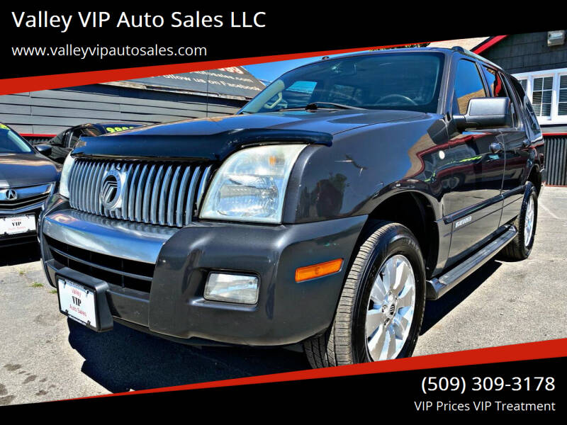 2007 Mercury Mountaineer for sale at Valley VIP Auto Sales LLC - Valley VIP Auto Sales - E Sprague in Spokane Valley WA