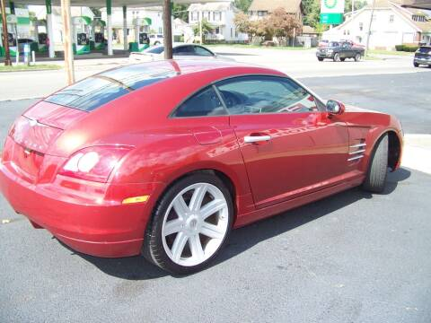 2004 Chrysler Crossfire for sale at Collector Car Co in Zanesville OH