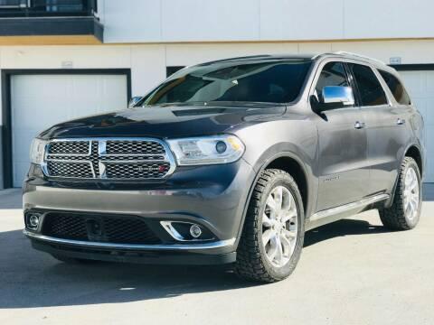 2017 Dodge Durango for sale at Avanesyan Motors in Orem UT