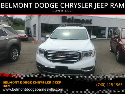 2017 GMC Acadia for sale at BELMONT DODGE CHRYSLER JEEP RAM in Barnesville OH