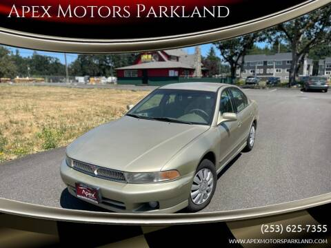 2001 Mitsubishi Galant for sale at Apex Motors Parkland in Tacoma WA