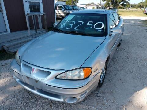 2001 Pontiac Grand Am for sale at Knight Motor Company in Bryan TX