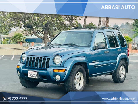 2003 Jeep Liberty for sale at Abbasi Auto in San Diego CA