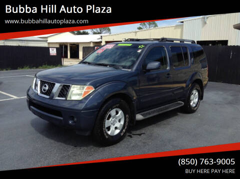 2005 Nissan Pathfinder for sale at Bubba Hill Auto Plaza in Panama City FL