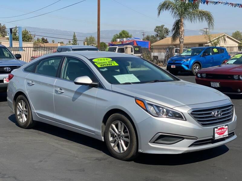 2016 Hyundai Sonata for sale at Esquivel Auto Depot in Rialto CA