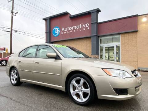 2008 Subaru Legacy for sale at Automotive Solutions in Louisville KY