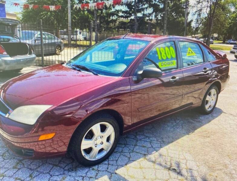 2007 Ford Focus for sale at Carfast Auto Sales in Dolton IL