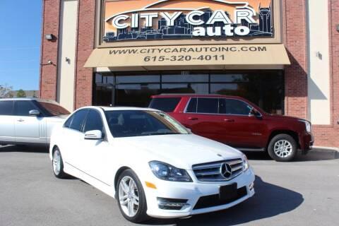 2013 Mercedes-Benz C-Class for sale at CITY CAR AUTO INC in Nashville TN