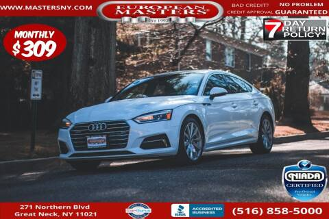 2018 Audi A5 Sportback for sale at European Masters in Great Neck NY