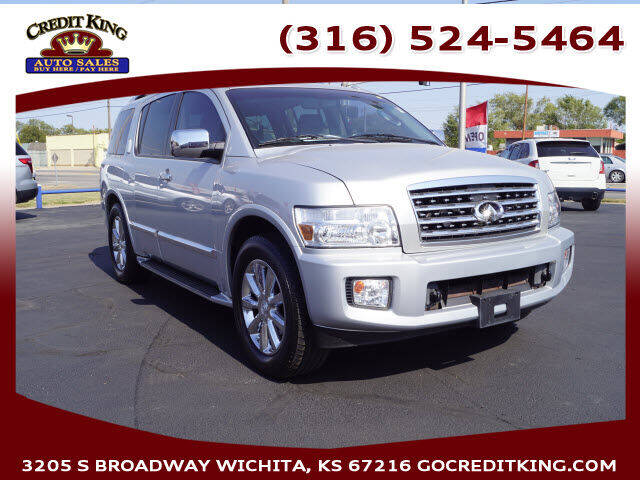 2010 Infiniti QX56 for sale at Credit King Auto Sales in Wichita KS