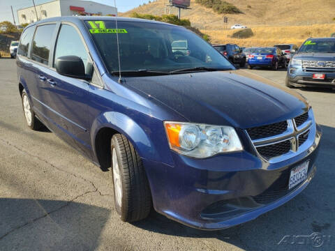 2017 Dodge Grand Caravan for sale at Guy Strohmeiers Auto Center in Lakeport CA