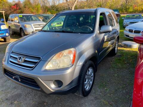 2005 Honda CR-V for sale at Richard C Peck Auto Sales in Wellsville NY