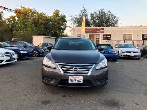 2014 Nissan Sentra for sale at TOP QUALITY AUTO in Rancho Cordova CA