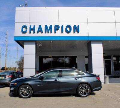 2021 Chevrolet Malibu for sale at Champion Chevrolet in Athens AL