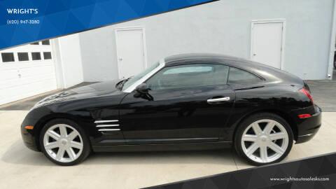 2005 Chrysler Crossfire for sale at WRIGHT'S in Hillsboro KS