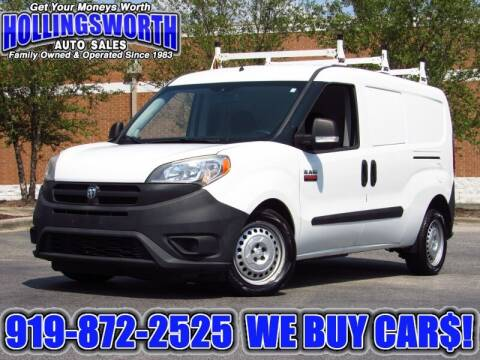 2016 RAM ProMaster City Cargo for sale at Hollingsworth Auto Sales in Raleigh NC