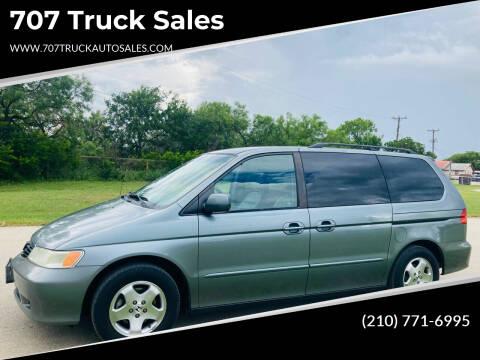 2001 Honda Odyssey for sale at 707 Truck Sales in San Antonio TX