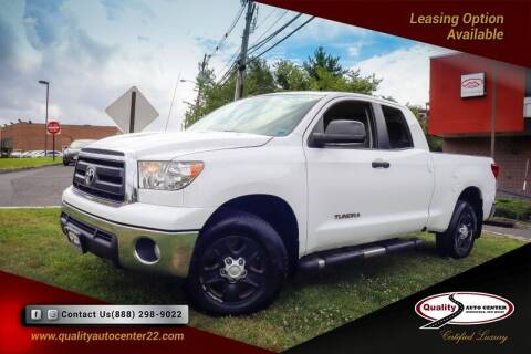 2012 Toyota Tundra for sale at Quality Auto Center of Springfield in Springfield NJ