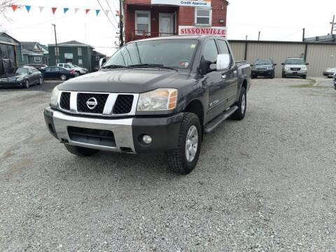 2006 Nissan Titan for sale at Sissonville Used Cars in Charleston WV