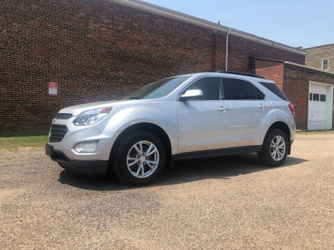 2017 Chevrolet Equinox for sale at Jim's Hometown Auto Sales LLC in Byesville OH