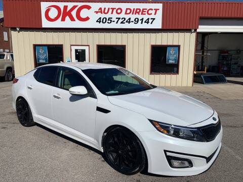 2014 Kia Optima for sale at OKC Auto Direct in Oklahoma City OK