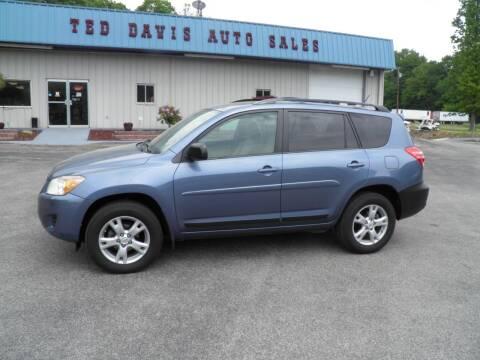 2012 Toyota RAV4 for sale at Ted Davis Auto Sales in Riverton WV
