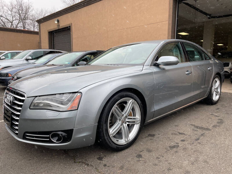 2013 Audi A8 for sale at Vantage Auto Wholesale in Lodi NJ