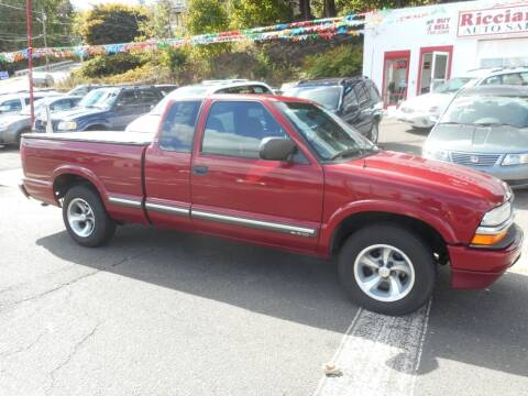 2001 Chevrolet S-10 for sale at Ricciardi Auto Sales in Waterbury CT