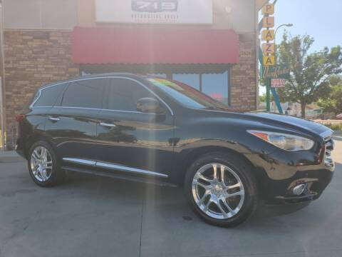 2013 Infiniti JX35 for sale at 719 Automotive Group in Colorado Springs CO