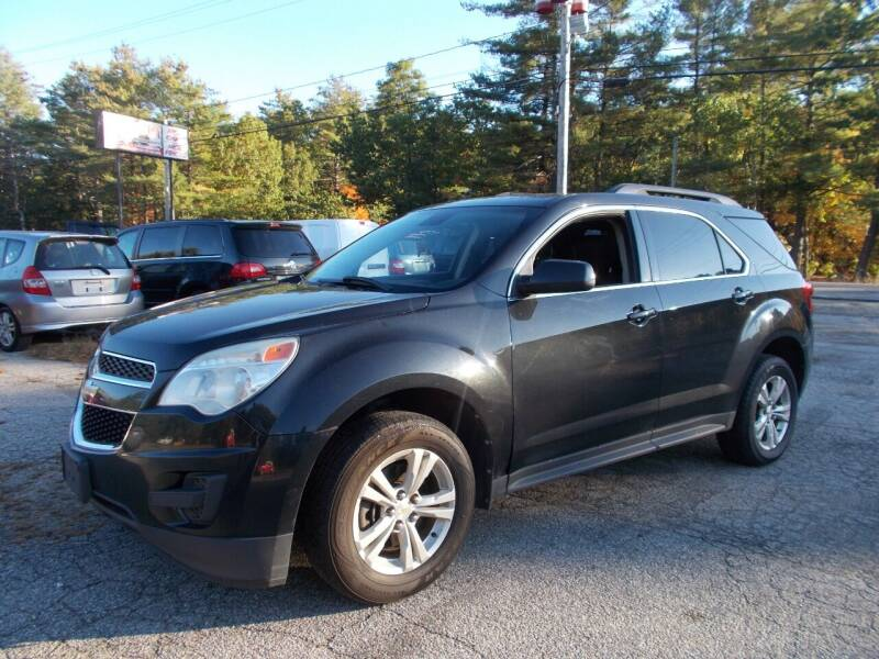 2012 Chevrolet Equinox for sale at Manchester Motorsports in Goffstown NH