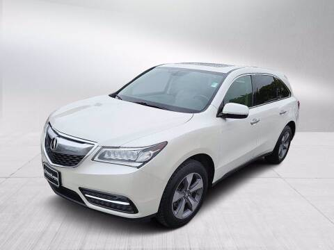 2014 Acura MDX for sale at Fitzgerald Cadillac & Chevrolet in Frederick MD