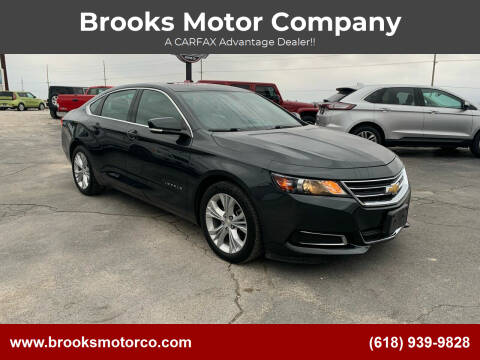 2015 Chevrolet Impala for sale at Brooks Motor Company in Columbia IL