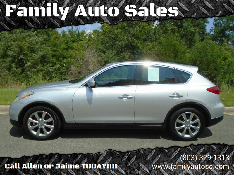 2008 Infiniti EX35 for sale at Family Auto Sales in Rock Hill SC