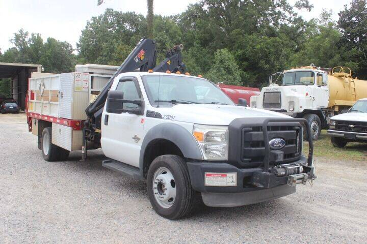 2012 Ford F-550 Super Duty for sale at Vehicle Network - Davenport, Inc. in Plymouth NC