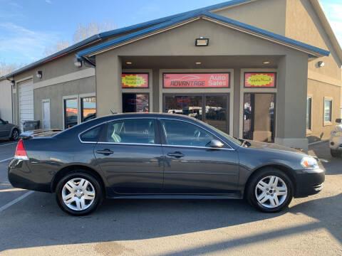 2013 Chevrolet Impala for sale at Advantage Auto Sales in Garden City ID