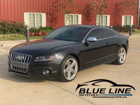 2012 Audi S5 for sale at Blue Line Motors in Bixby OK