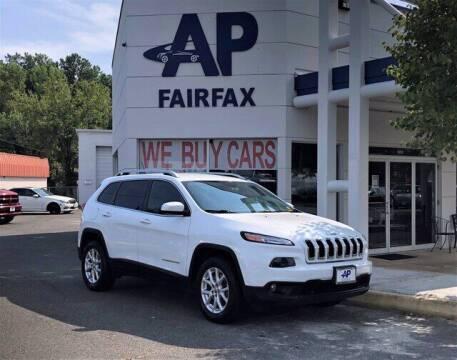2016 Jeep Cherokee for sale at AP Fairfax in Fairfax VA