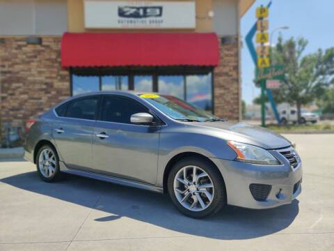 2015 Nissan Sentra for sale at 719 Automotive Group in Colorado Springs CO