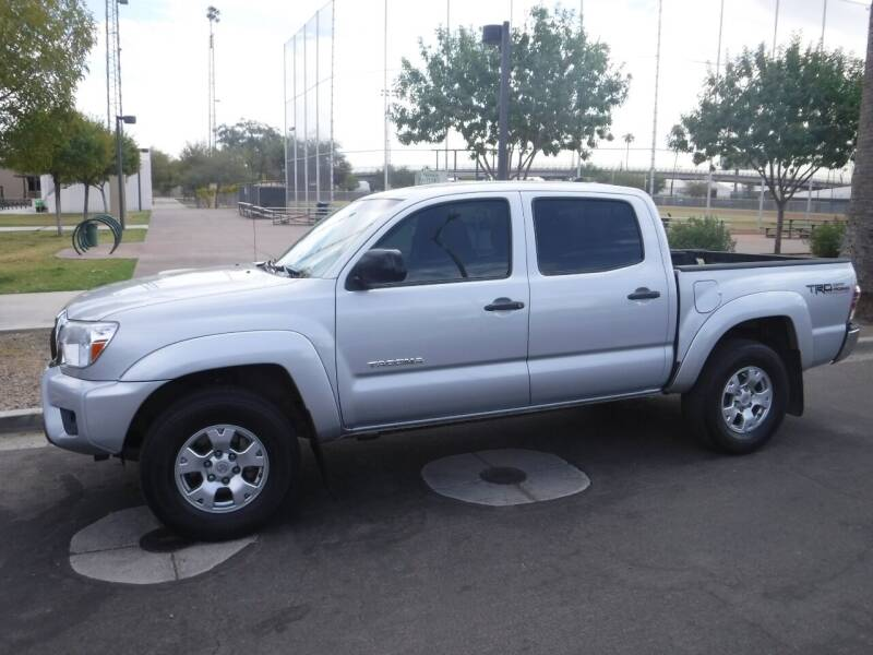 2012 Toyota Tacoma for sale at J & E Auto Sales in Phoenix AZ