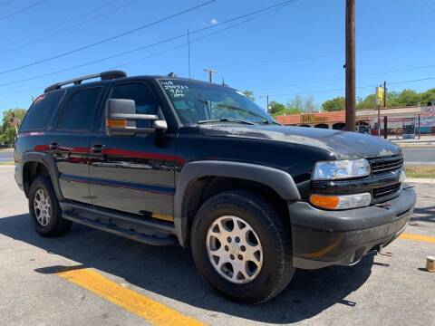 2003 Chevrolet Tahoe for sale at C.J. AUTO SALES llc. in San Antonio TX